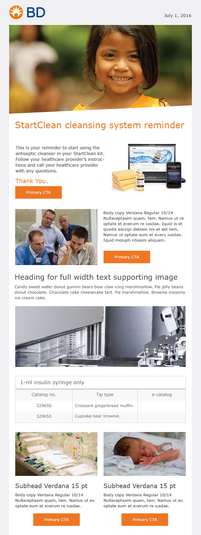 BD EMAIL TEMPLATE
