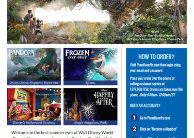DISNEY_WORLD EMAIL TEMPLATE